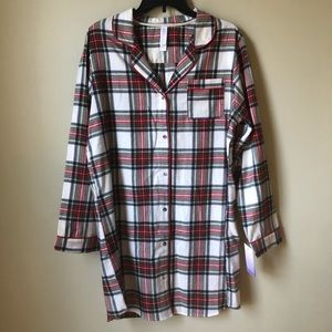 Stars Above | Plaid Nightgown NWT